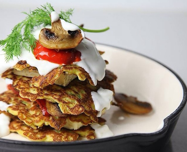 Middle Eastern Zucchini Fritters