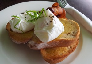 Snout in the Trough | Perfect poached egg