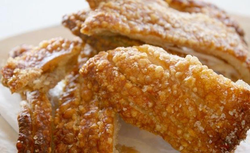 Perfect pork crackling